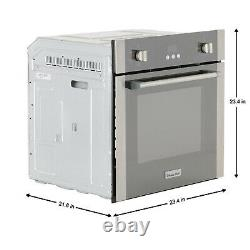Magic Chef MCSWOE24S 2.2 Cubic Foot Built In Programmable Wall Convection Oven