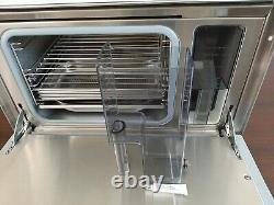 Miele 24 Built-in Convection Steam Oven White Dg 155-1 In Pristine Condition