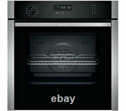 NEFF N50 B6ACH7HN0B HIDE & SLIDE SELF CLEANING Single Oven, RRP £849