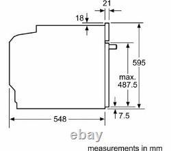 NEFF N70 B57CR22N0B Slide&Hide Electric Oven, RRP £899