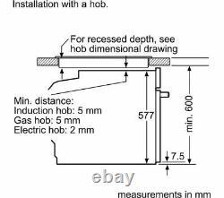 NEFF N70 B57CR32N0B Slide&Hide Auto Cleaning Electric Oven, RRP £929