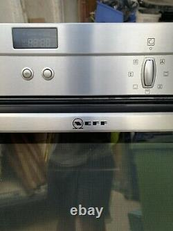Neff B3CCC0AN0B Integrated Electric Single Oven Stainless Steel