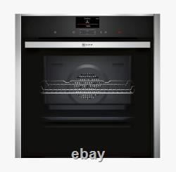 Neff B47CS34H0B Slide and Hide Integrated Single Electric Oven, 60cm Wide, A1157
