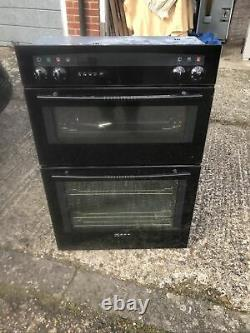 Neff Built-in double oven With Convection And Grill, used Model U1461S0GB