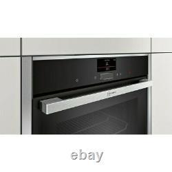 Neff N90 B57CS24H0B Slide & Hide Built-In Pyrolytic Cleaning Oven, RRP £999