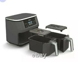 Ninja DZ201 8qt 2 Basket Air Fryer with Dual Zone Technology. NEW. FREE PRI S/H