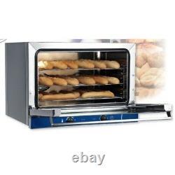 Oven electric convection baguette bread pastries 3 pans 60x40 RS0890