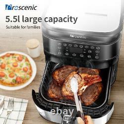 Proscenic 5,5L Alexa Air Fryer 1700W Oven Oil Free App Timer Temperature Control