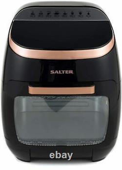 Rose Gold Pro 11L Digital Air Fryer Oven Rotisserie Chip Grill Toast Roast Bake