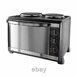 Russell Hobbs 22780 Mini Kitchen Multi-Cooker, 1920 W with Hotplates Silver