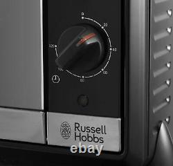 Russell Hobbs 30L Mini Oven with Hob Hotplates, Bake, Grill, Roast, Boil & Fry