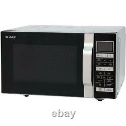 SHARP R860SLM 25L 900W Silver Combination Microwave Oven Grill + 1 Year Warranty