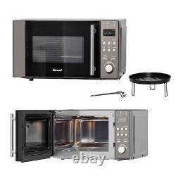 SMAD 20L Grill Microwave Convection Oven Countertop 800W Combined Cooking Home