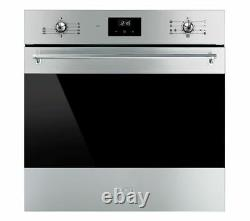SMEG SF6300TVX Electric Built-in Single Oven A 70L Multifunction Silver Currys