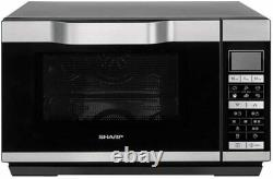 Sharp R861SLM 900W 25L Combination Microwave Oven Silver 15 programmes