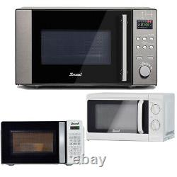 Smad 3-in-1 20L Combination Microwave Oven Convection Grill Stainless Steel