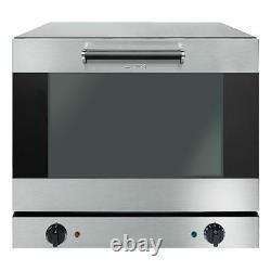 Smeg Commercial ALFA43XUK 4 Tray Convection Oven