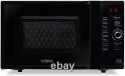 Tower KOC9C0TBKT 900W 28L Dual Heater Combination Oven, Self-Clean, Black New