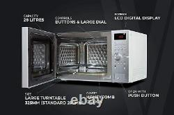 Tower KOC9C5TT 900W 28L Easy Steam Cleaning Combo Oven, S/Steel Brand New