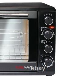 TurboTronic Mini Oven 45 Liters 2000 W Electric BBQ Oven Pizza Oven with Timer