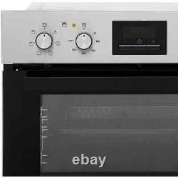 Zanussi ZOD35621XK Built In 59cm A/A Electric Double Oven Stainless Steel New