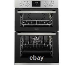 Zanussi ZOD35660XK Built in Double Oven in Stainless Steel