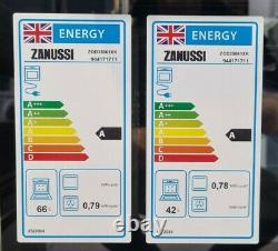 Zanussi ZOD35661XK Built-in Electric Double Oven, RRP £469
